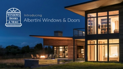 Albertini Italian Windows & Doors- Now Available
